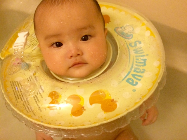 赤ちゃんに熱があるが元気な時のお風呂は?