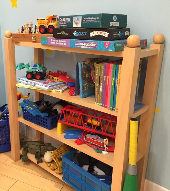 赤ちゃんのいるスペースを整理整頓して安全に過ごせる環境にしよう